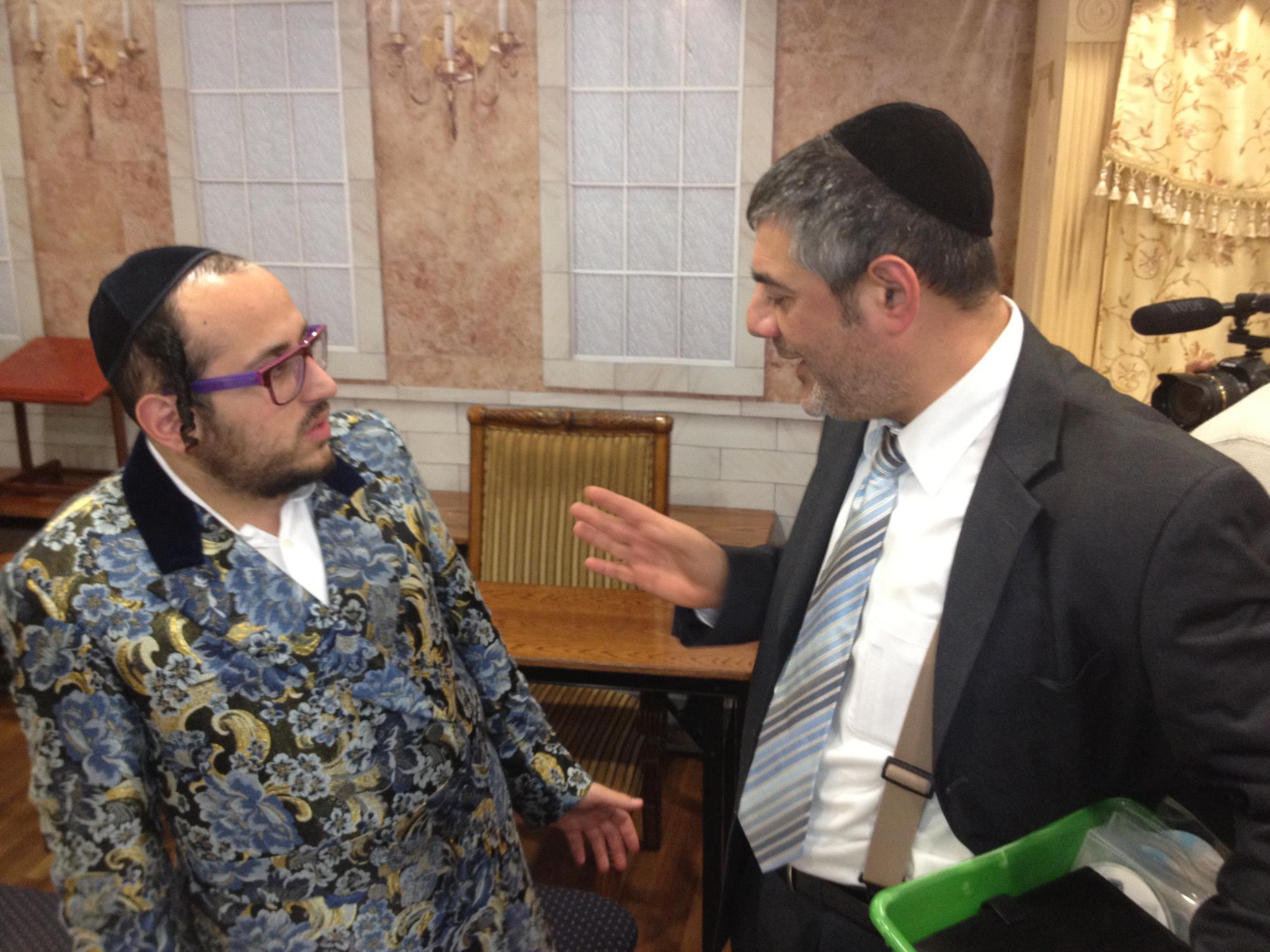 Rabbi Yossi Mizrachi and Lipa Schmeltzer - The Odd Couple