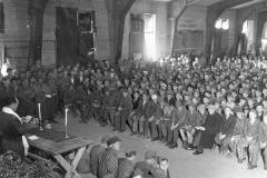 Shabbat in Buchenwald, 1945