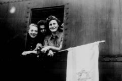 Buchenwald Survivors Entering Palestine, 1945