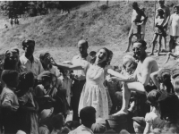 Singing in the DP Camp, 1946