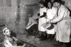 Baking Matzos in Hiding, 1943